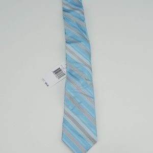 Calvin Klein Men's Pearlized Stripe Neck Tie